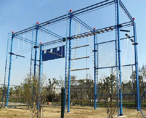 高空拓展器材对于一个拓展基地至