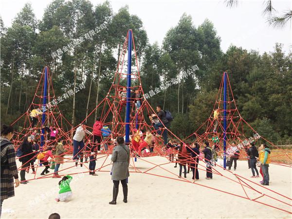 儿童户外攀爬网